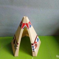 Playmobil: FAMOBIL-PLAYMOBIL 1ª ÉPOCA: LOTE INDIOS OESTE: TIPI / TIENDA INDIA.DE REF. 3406, 3252. AÑOS 70.PTOY. Lote 120711119