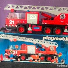 Playmobil: CAMION DE BOMBEROS DE PLAYMOBIL REFERENCIA 3525 - 1981. Lote 121079539