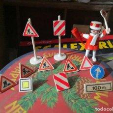 Playmobil: PLAYMOBIL SEÑALES VERTICALES ( GEOBRA 1974 ) KEKO . Lote 121218099