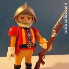 Playmobil: LOTE FIGURA SOLDADO GUERRERO CABALLERO CORSARIO ESPAÑOL MEDIEVAL OESTE DIORAMA BELEN PLAYMOBIL. Lote 121736063