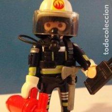 Playmobil: LOTE FIGURA HOMBRE BOMBERO MEDIEVAL WESTERN OESTE DIORAMA BELEN PLAYMOBIL. Lote 121736095