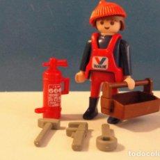 Playmobil: LOTE FIGURA HOMBRE OPERARIO TALLER MEDIEVAL WESTERN OESTE DIORAMA BELEN PLAYMOBIL. Lote 121736131