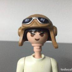 Playmobil: PLAYMOBIL GORRO AVIADOR PILOTO RECAMBIO -SOLO SE VENDE EL GORRO-. Lote 127362414