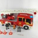 Playmobil: CAMION DE BOMBEROS CON LUZ Y SONIDO PLAYMOBIL 4820. Lote 122581895