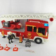 Playmobil - CAMION DE BOMBEROS CON LUZ Y SONIDO PLAYMOBIL 4820 - 122581895