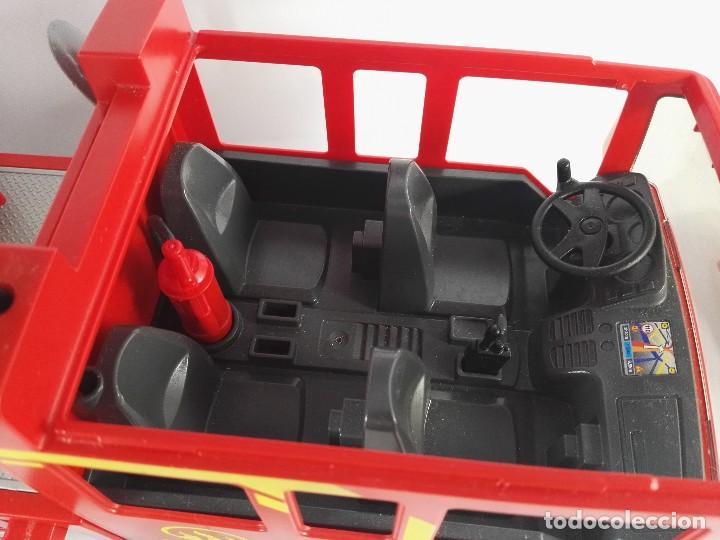 Playmobil: CAMION DE BOMBEROS CON LUZ Y SONIDO PLAYMOBIL 4820 - Foto 4 - 122581895