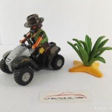 Playmobil: SELVA CAZADOR CON QUAD PLAYMOBIL 4834. Lote 122759419