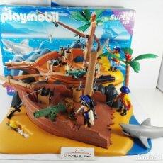 Playmobil: SUPERSET ISLA PIRATA PALYMOBIL 4136. Lote 122785307