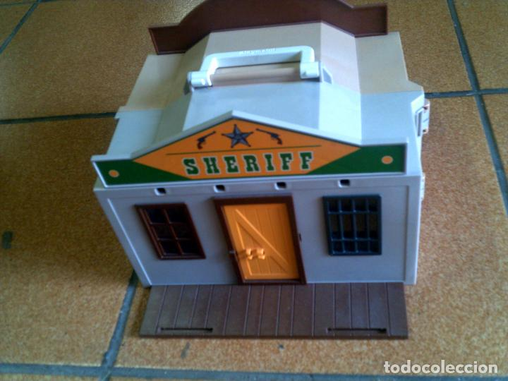 Playmobil: BANCO DEL OESTE DE PLAYMOBIL ESTA CASI COMPLETO VER FOTOS - Foto 3 - 122893411