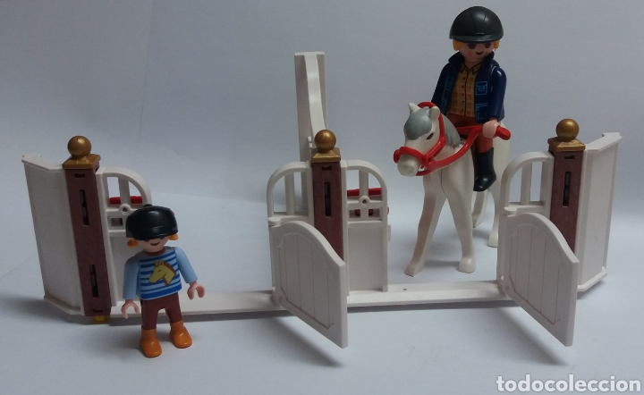 Playmobil: LOTE PLAYMOBIL CUADRAS - Foto 2 - 123114531