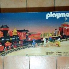 Playmobil: PLAYMOBIL 4034. TREN DEL OESTE. COMPLETO 100%.. Lote 123554466