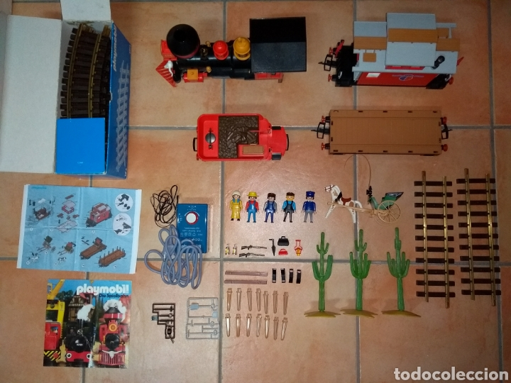 Playmobil: Playmobil 4034. Tren del oeste. Completo 100%. - Foto 2 - 123554466