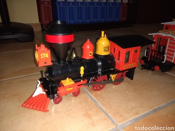 Playmobil: Playmobil 4034. Tren del oeste. Completo 100%. - Foto 3 - 123554466