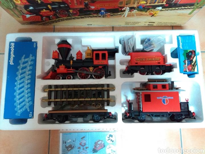 Playmobil: Playmobil 4034. Tren del oeste. Completo 100%. - Foto 4 - 123554466