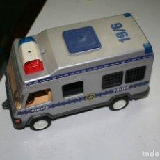 Playmobil: COCHE POLICIA FURGON PLAYMOBIL MUÑECOS 1994. Lote 124586995