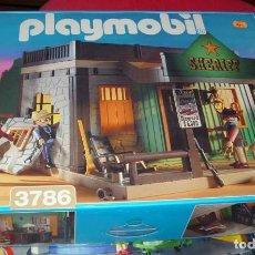 Playmobil: PLAYMOBIL SHERIFF - REF. 3786 EN SU CAJA NUNCA USADO EN MUY BUEN ESTADO. Lote 124604687