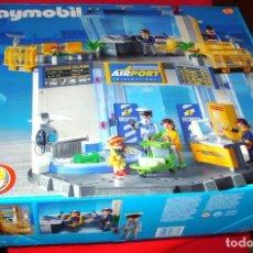 Playmobil: PLAYMOBIL AIR PORT - AEROPUERTO - REF. 3786 EN SU CAJA NUNCA USADO EN MUY BUEN ESTADO. Lote 124606159