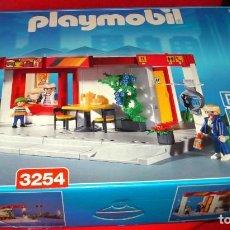 Playmobil: PLAYMOBIL CAFETERIA DE GASOLINERA - REF. 3254 EN SU CAJA NUNCA USADO EN MUY BUEN ESTADO. Lote 124606399