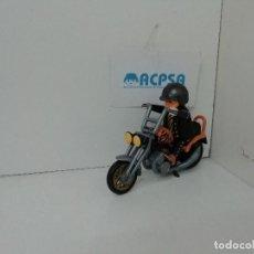 Playmobil: PLAYMOBIL 3014 3605 MOTO CHOPPER ATIGRADA. Lote 124632483