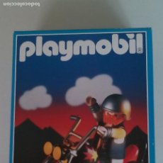 Playmobil: MOTO PLAYMOBIL 3831 - MOTORISTA HEAVY METAL CON HARLEY DAVIDSON, AÑO 1995, NUEVO !!! - ERICTOYS. Lote 124888795