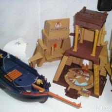 Playmobil: BARCO Y PIRAMIDE PLAYMOBIL LO QUE SE VE EN FOTO. Lote 125133215