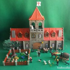 Playmobil: PLAYMOBIL MONASTERIO, MONJES Y COMPLEMENTOS CUSTOM CURA ABADIA MONJE ABAD MEDIEVAL CABALLERO. Lote 125404187