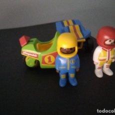 Playmobil: PLAYMOBIL 123 PILOTO MOTO Y COCHE 1 2 3 . Lote 126903791