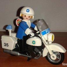 Playmobil: MOTO DE POLICÍA ANTIGUA DE PLAYMOBIL. TOTALMENTE NUEVO.. Lote 136218213