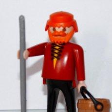 Playmobil: PLAYMOBIL MEDIEVAL FIGURA GRANJERO. Lote 133100199