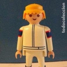 Playmobil: LOTE FIGURA SEÑOR HOMBRE PILOTO MEDIEVAL WESTERN OESTE DIORAMA BELEN PLAYMOBIL . Lote 127203899