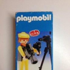 Playmobil: FAMOBIL 3302. CAZADOR / FOTÓGRAFO SAFARI. A ESTRENAR.. Lote 56942231