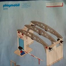 Playmobil - FOLLETO, MANUAL MONTAJE ORIGINAL PLAYMOBIL REF 4314 - 127247635