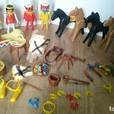 Playmobil: LOTE CLICKS INDIOS FAMOBIL PLAYMOBIL GEOBRA 1974 . Lote 127649915