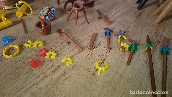 Playmobil: Lote clicks indios famobil playmobil geobra 1974 - Foto 4 - 127649915