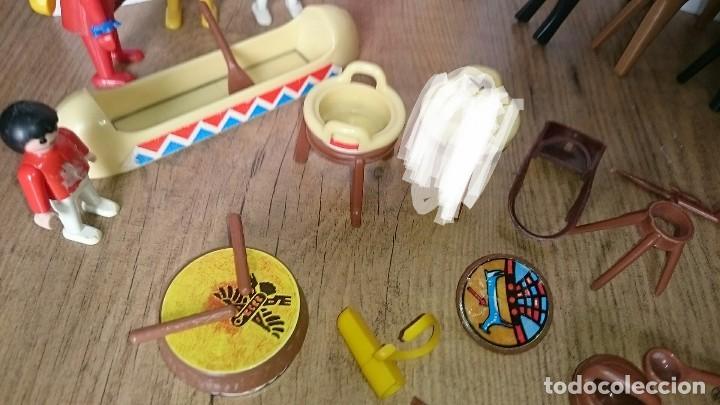 Playmobil: Lote clicks indios famobil playmobil geobra 1974 - Foto 5 - 127649915
