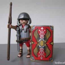Playmobil: PLAYMOBIL ROMANO SOLDADO CENTURION ROMA ROMANOS CON CASCO, ESPADA, LANZA Y ESCUDO COMPLETO RO. Lote 295049013