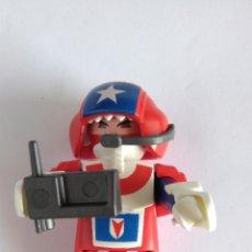 Playmobil: PLAYMOBIL, FIGURA PILOTO. NUEVA. Lote 128094183