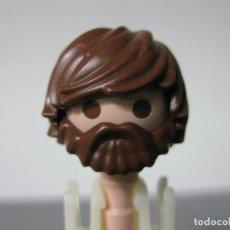 Playmobil: PLAYMOBIL CABEZA HIPSTER BARBA PELO MODERNO. Lote 183168222