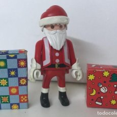 Playmobil: PLAYMOBIL FIGURA PAPA NOEL CON REGALOS. Lote 133881131