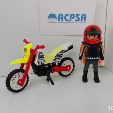 Playmobil: PLAYMOBIL MOTO CROSS. Lote 128257990