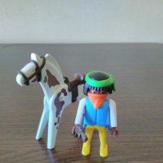 Playmobil: PLAYMOBIL REF. 3748 BANDIDO, OESTE, WESTERN. Lote 128322519
