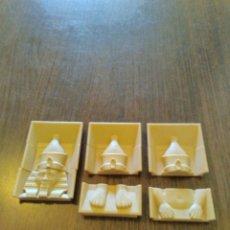 Playmobil: PLAYMOBIL REF. 4240 TAPAS EXTERIOR PIRÁMIDE, EGIPTO. Lote 128505223