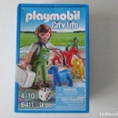 Playmobil: PLAYMOBIL 6411 VETERINARIO CON JUEGO.. Lote 128511279