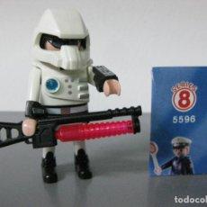 Playmobil: PLAYMOBIL PILOTO SOBRE SORPRESA SERIE 8 SOBRES REF 5596. Lote 128661999