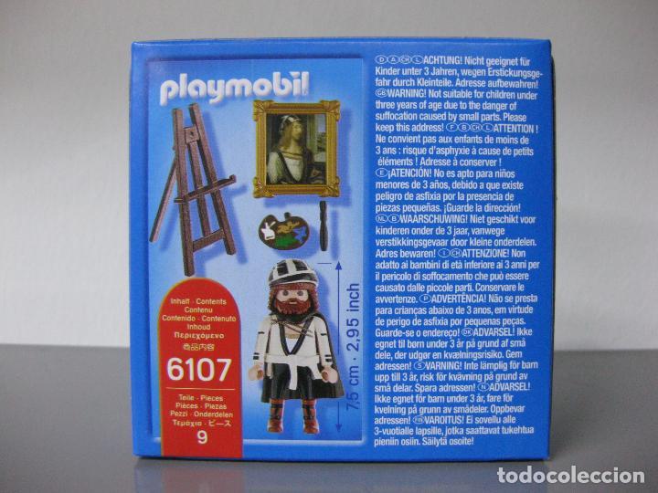 Playmobil: PLAYMOBIL SPECIAL DURERO REFERENCIA 6107 NUEVO EN CAJA - POR ABRIR - Foto 2 - 128697419