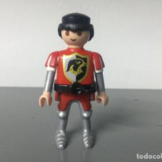 Playmobil: PLAYMOBIL FIGURA MEDIEVAL GUERRERO DEL AGUILA. Lote 128710583