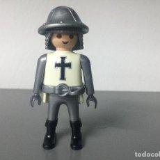 Playmobil: PLAYMOBIL TEMPLARIO CRUZADO CRUZ NEGRA MEDIEVAL. Lote 128710635