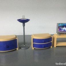 Playmobil: PLAYMOBIL HABITACION MUEBLES TELEVISION PLASMA TV. Lote 128711607