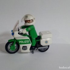 Playmobil: PLAYMOBIL. POLICIA CON MOTO. REF 3983. Lote 129073691