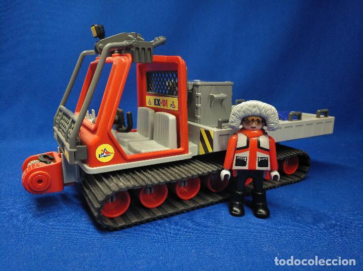 Playmobil: Playmobil Vehículo oruga cadenas expedición polar - Foto 2 - 129560639